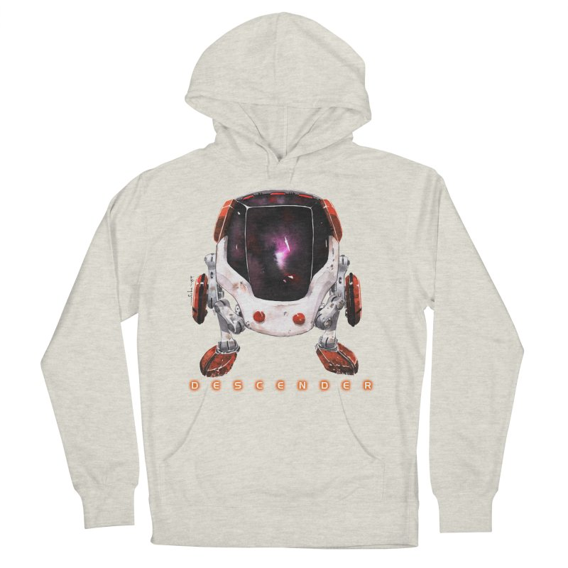 Bandit Men's Pullover Hoody by Dustin Nguyen's Artist Shop
