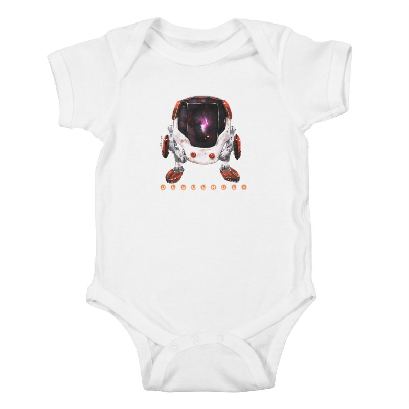 Bandit Kids Baby Bodysuit by Dustin Nguyen's Artist Shop