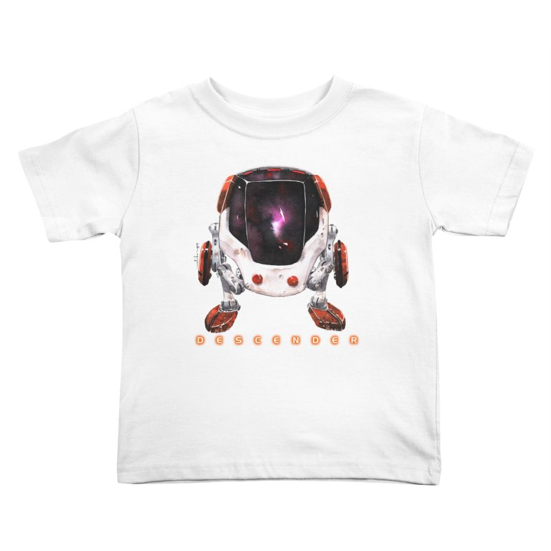 Bandit Kids Toddler T-Shirt by Dustin Nguyen's Artist Shop