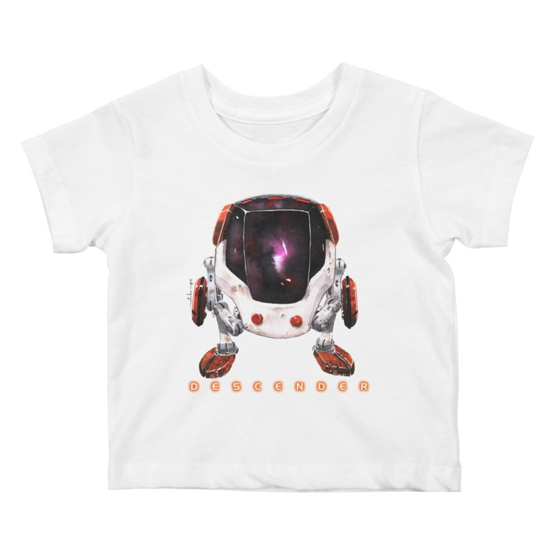 Bandit Kids Baby T-Shirt by Dustin Nguyen's Artist Shop