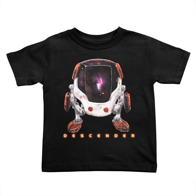 Bandit Kids Toddler T-Shirt by Dustin Nguyen's Artist Shop
