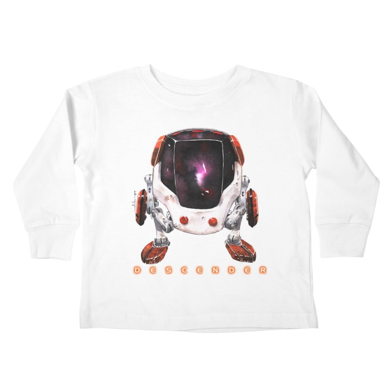 Bandit Kids Toddler Longsleeve T-Shirt by Dustin Nguyen's Artist Shop