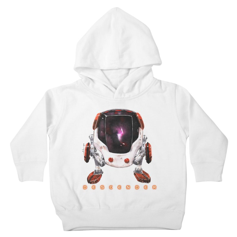 Bandit Kids Toddler Pullover Hoody by Dustin Nguyen's Artist Shop