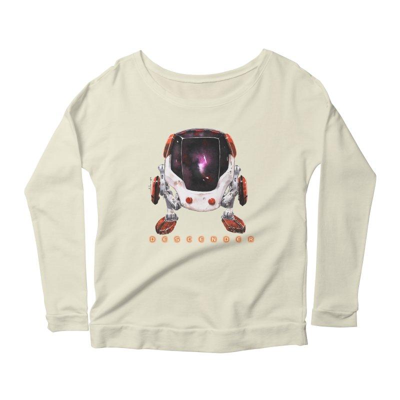 Bandit Women's Scoop Neck Longsleeve T-Shirt by Dustin Nguyen's Artist Shop