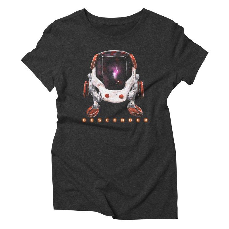 Bandit Women's Triblend T-shirt by Dustin Nguyen's Artist Shop