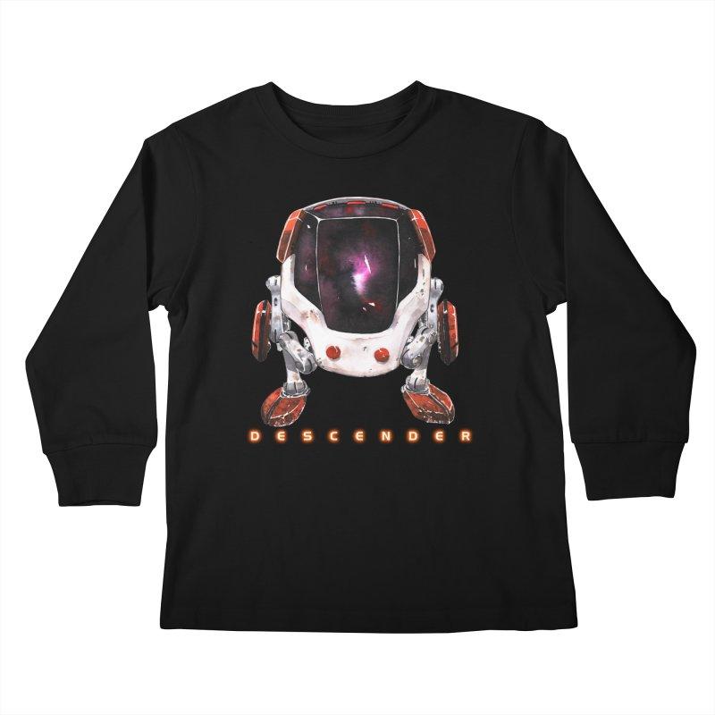 Bandit Kids Longsleeve T-Shirt by Dustin Nguyen's Artist Shop