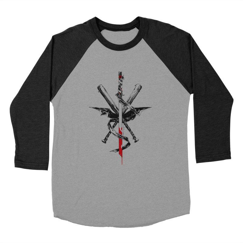 fanclub Women's Baseball Triblend Longsleeve T-Shirt by Dustin Nguyen's Artist Shop