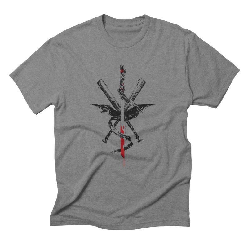fanclub Men's Triblend T-shirt by Dustin Nguyen's Artist Shop