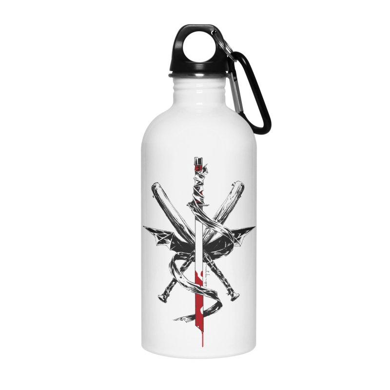 fanclub Accessories Water Bottle by Dustin Nguyen's Artist Shop