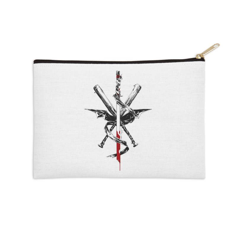 fanclub Accessories Zip Pouch by Dustin Nguyen's Artist Shop