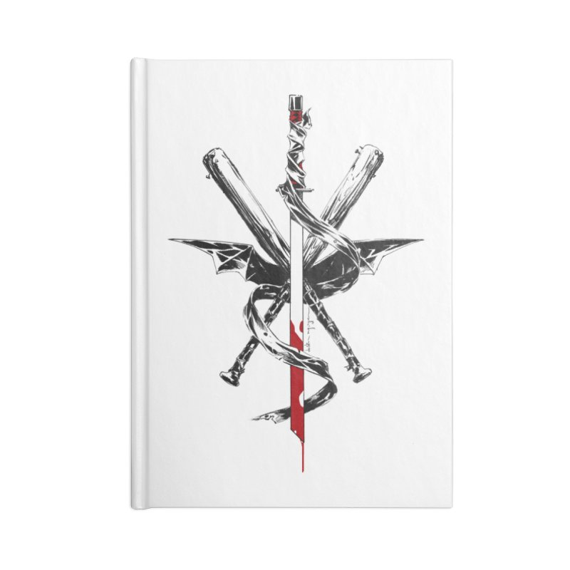 fanclub Accessories Lined Journal Notebook by Dustin Nguyen's Artist Shop