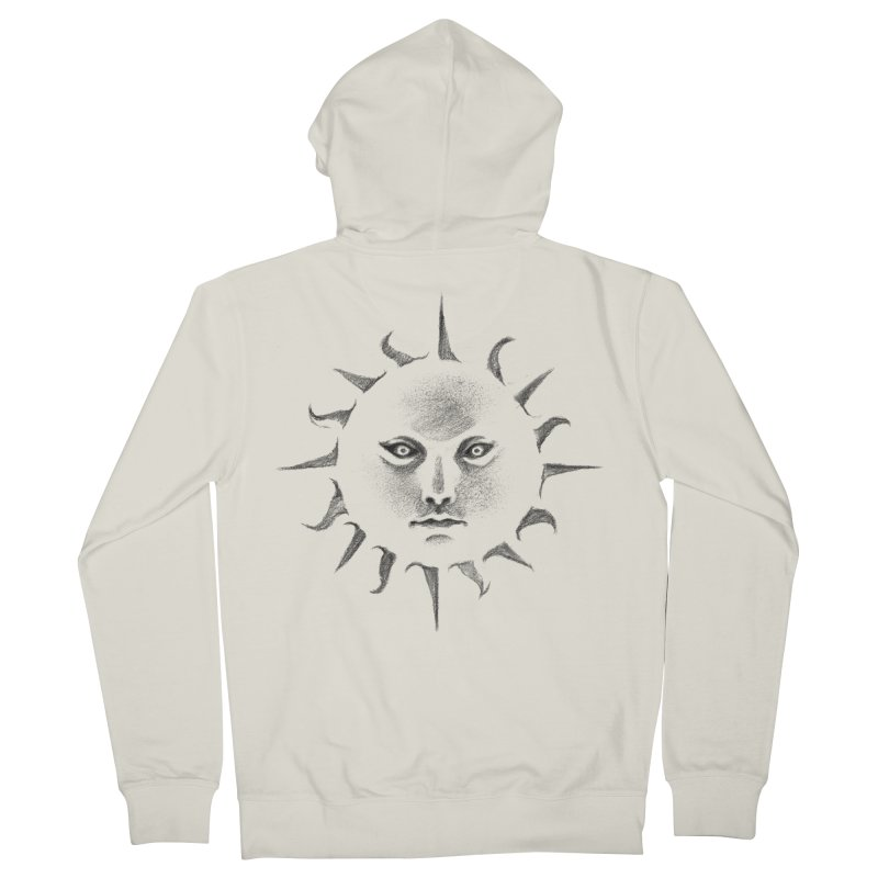 and the sun Women's Zip-Up Hoody by Dustin Nguyen's Artist Shop