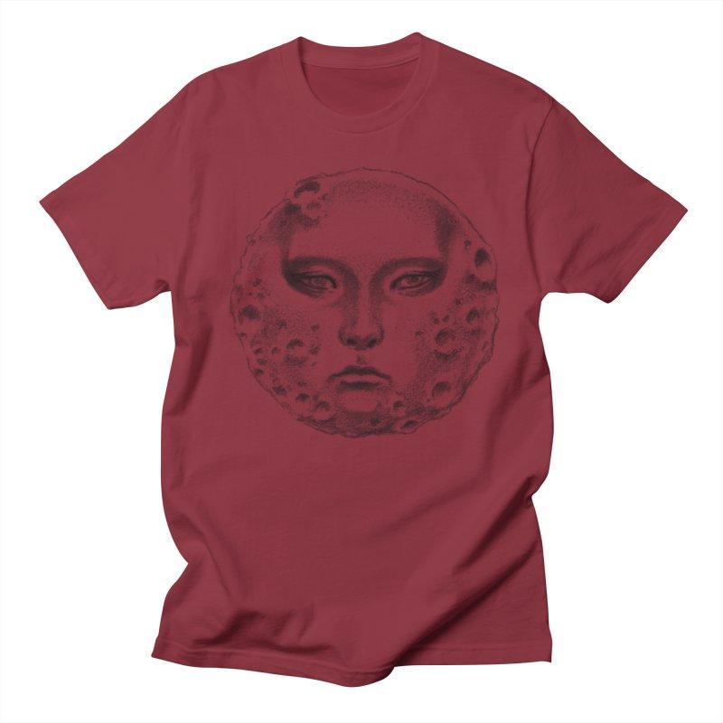the moon Men's Regular T-Shirt by Dustin Nguyen's Artist Shop