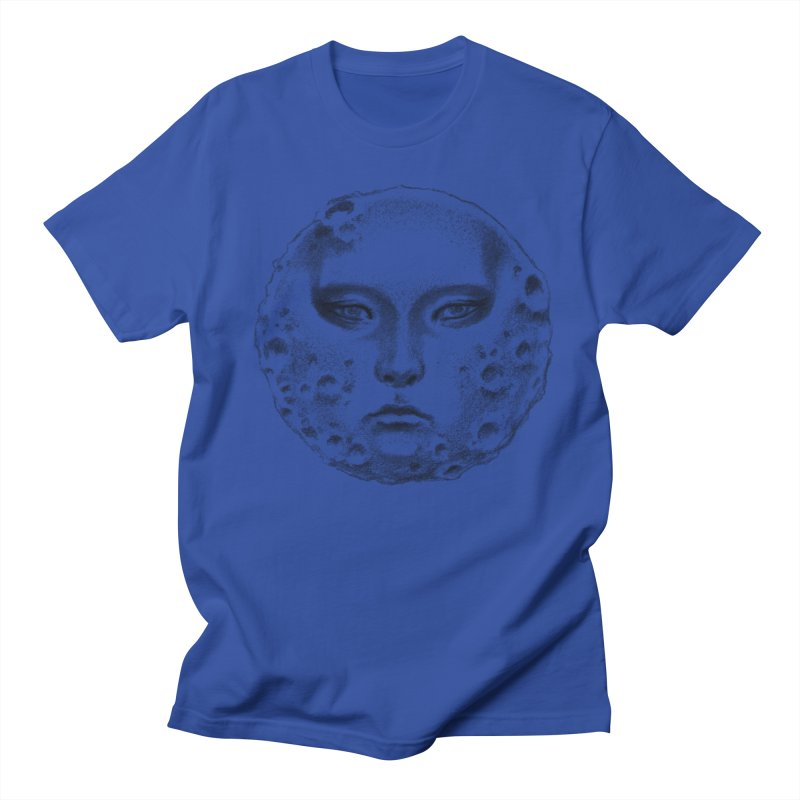 the moon Men's T-Shirt by Dustin Nguyen's Artist Shop