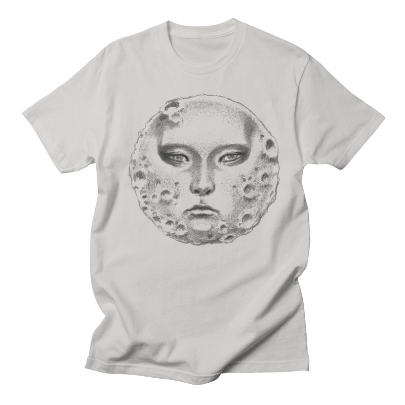the moon Men's Regular T-Shirt by Dustin Nguyen's Artist Shop