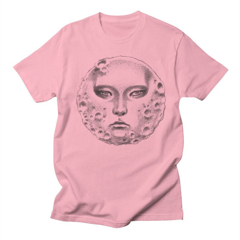 the moon Men's T-Shirt by Dustin Nguyen's Artist Shop