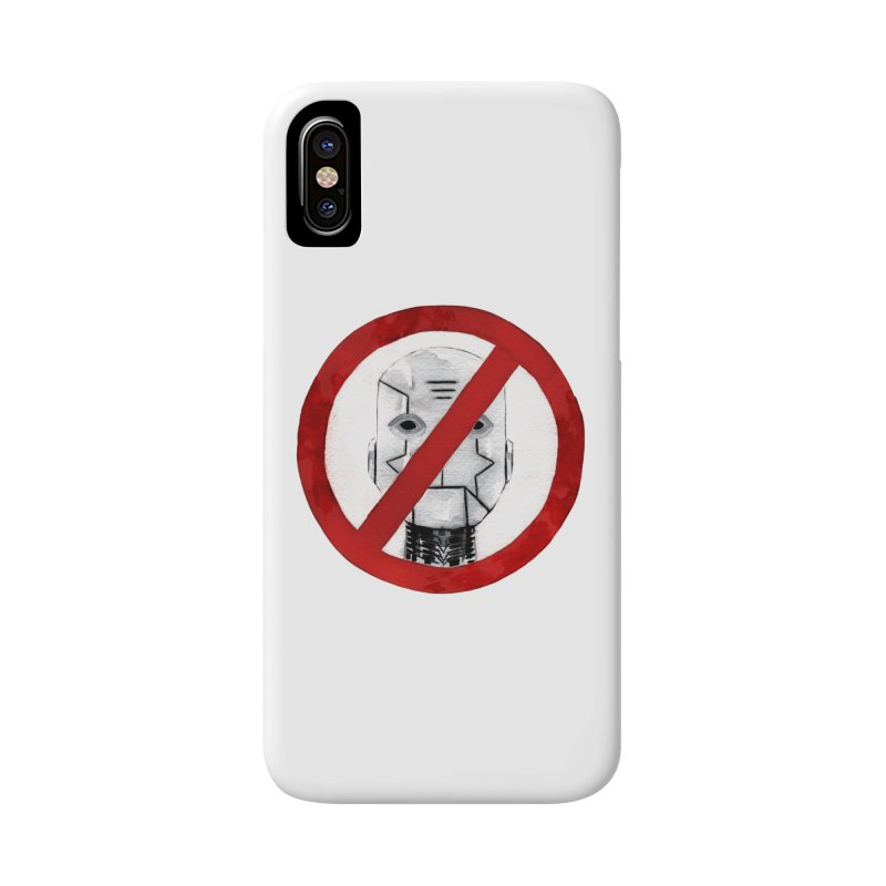 no robot Accessories Phone Case by Dustin Nguyen's Artist Shop