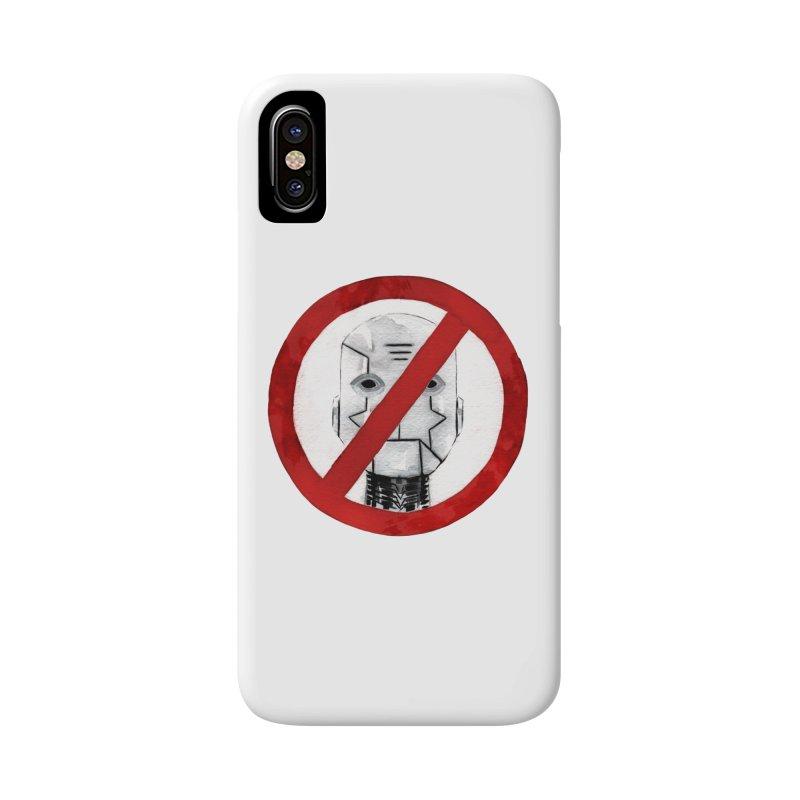 no robot Accessories Phone Case by Dustin Nguyen's Artist Shop