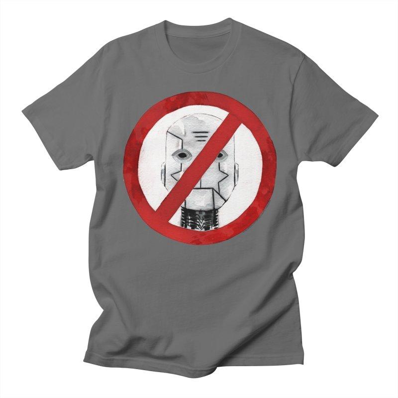 no robot Men's T-shirt by Dustin Nguyen's Artist Shop