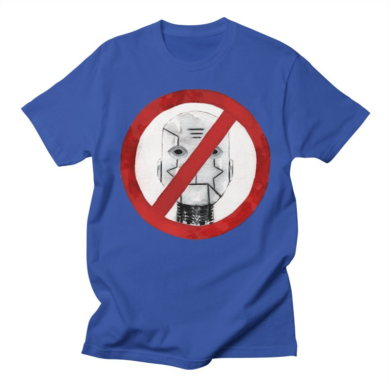 no robot Men's T-Shirt by Dustin Nguyen's Artist Shop