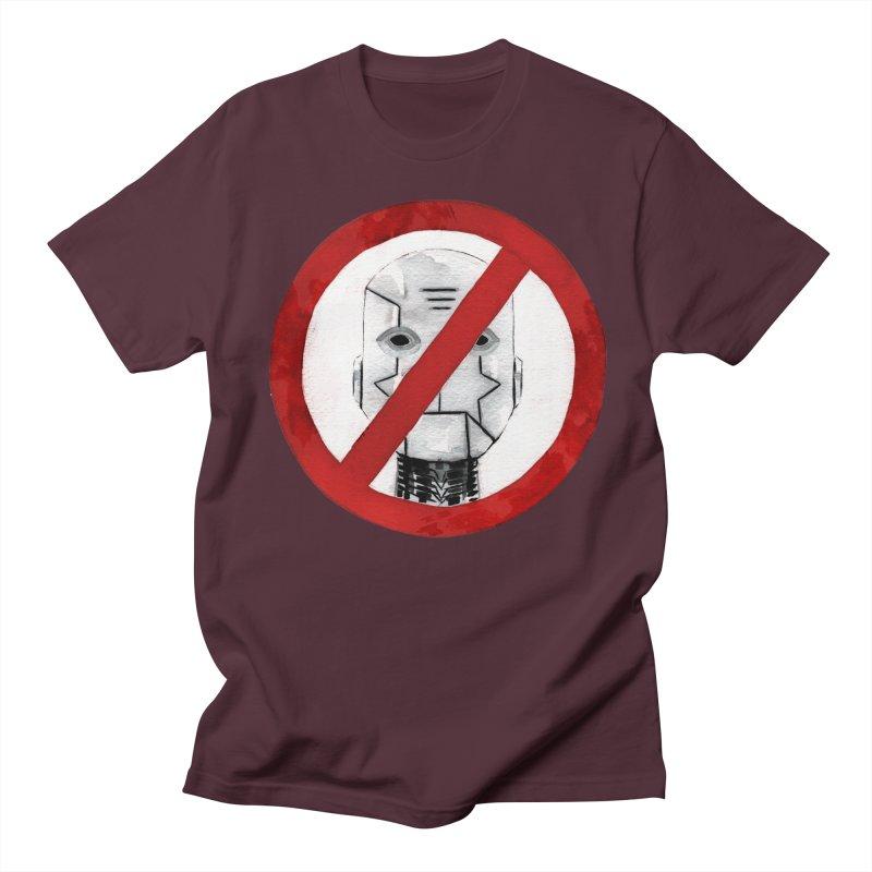 no robot Men's Regular T-Shirt by Dustin Nguyen's Artist Shop