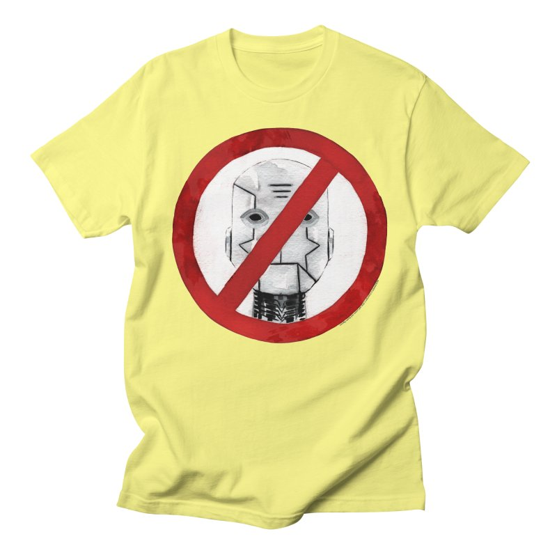 no robot Men's Regular T-Shirt by Dustin Nguyen's Artist Shop