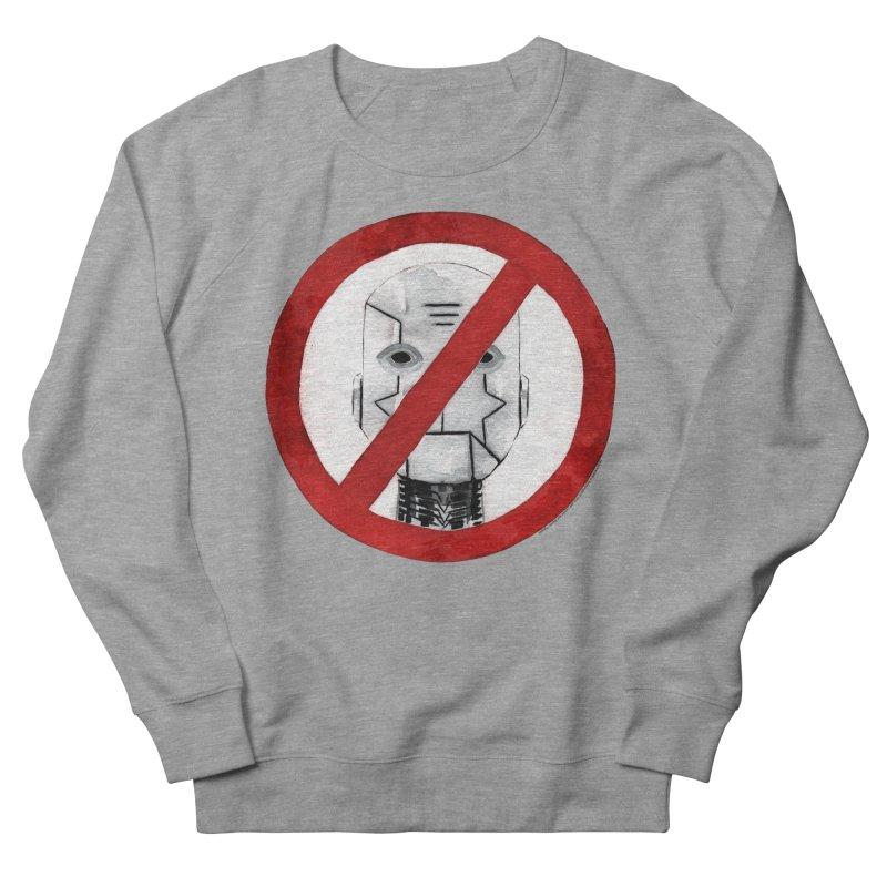 no robot Men's Sweatshirt by Dustin Nguyen's Artist Shop
