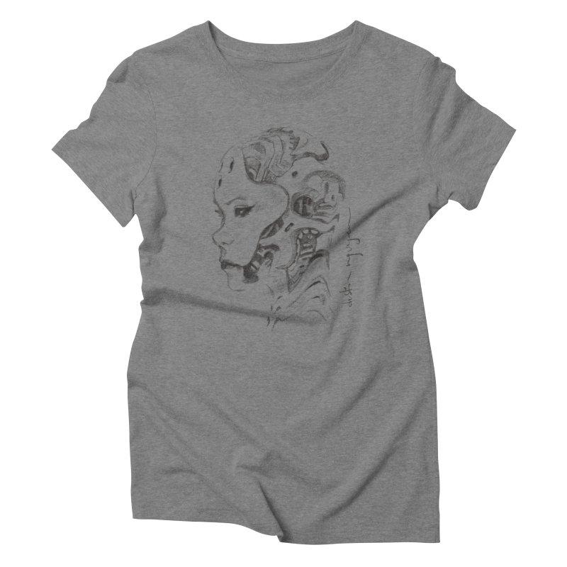 automatic romance 1 Women's Triblend T-Shirt by Dustin Nguyen's Artist Shop
