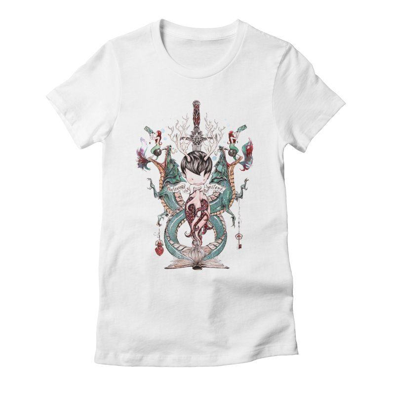 2012 Women's Fitted T-Shirt by Dustin Nguyen's Artist Shop