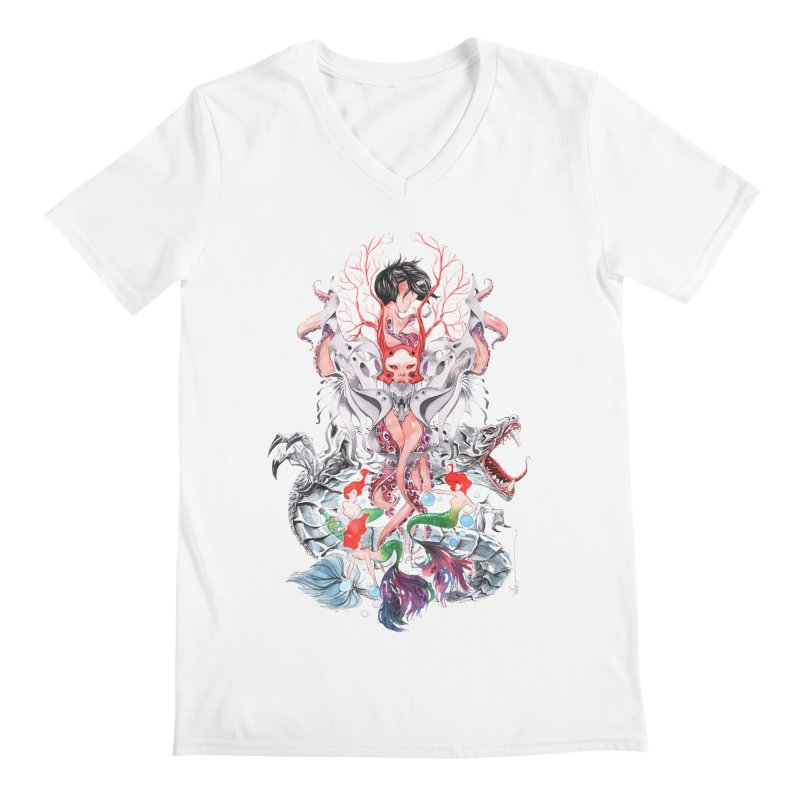 2016 Men's Regular V-Neck by Dustin Nguyen's Artist Shop