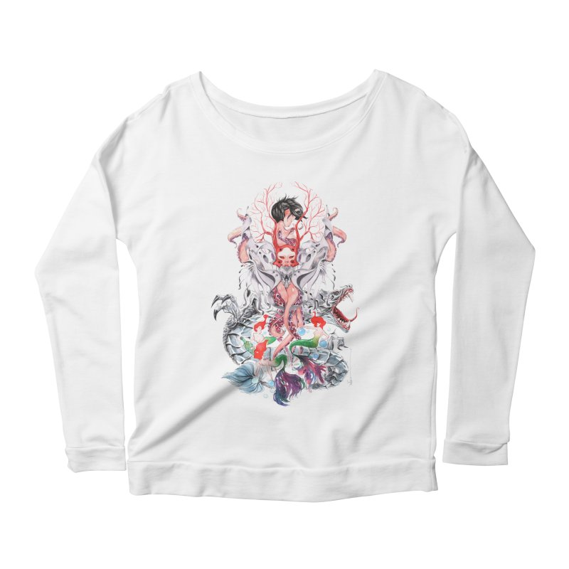 2016 Women's Scoop Neck Longsleeve T-Shirt by Dustin Nguyen's Artist Shop