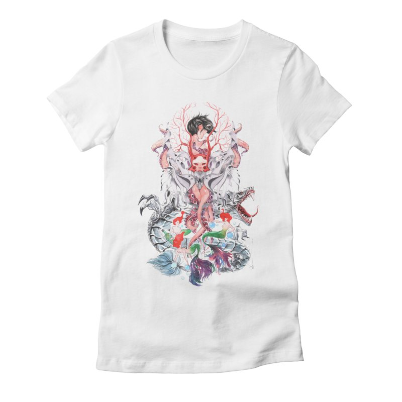 2016 Women's Fitted T-Shirt by Dustin Nguyen's Artist Shop