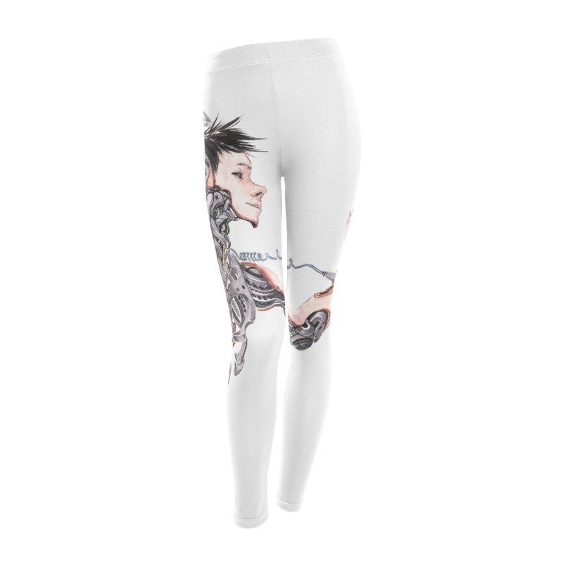 connected Women's Leggings Bottoms by Dustin Nguyen's Artist Shop