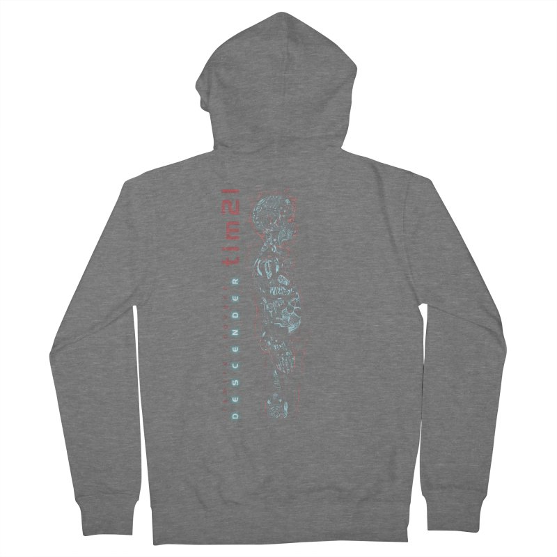 tim21 Women's French Terry Zip-Up Hoody by Dustin Nguyen's Artist Shop