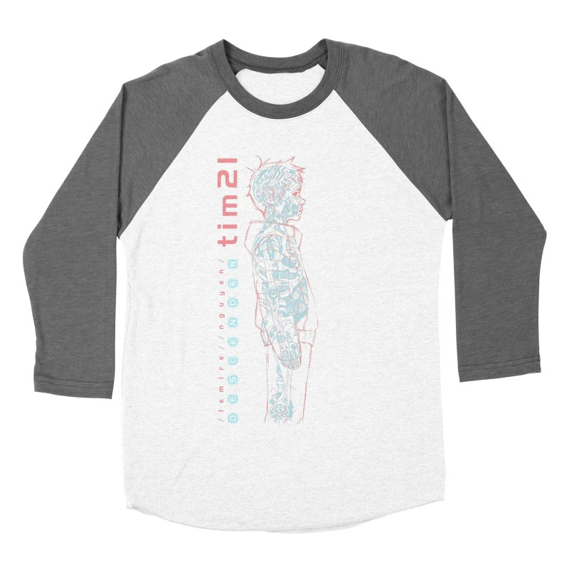 tim21 Women's Baseball Triblend Longsleeve T-Shirt by Dustin Nguyen's Artist Shop