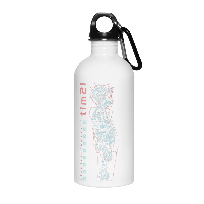 tim21 Accessories Water Bottle by Dustin Nguyen's Artist Shop