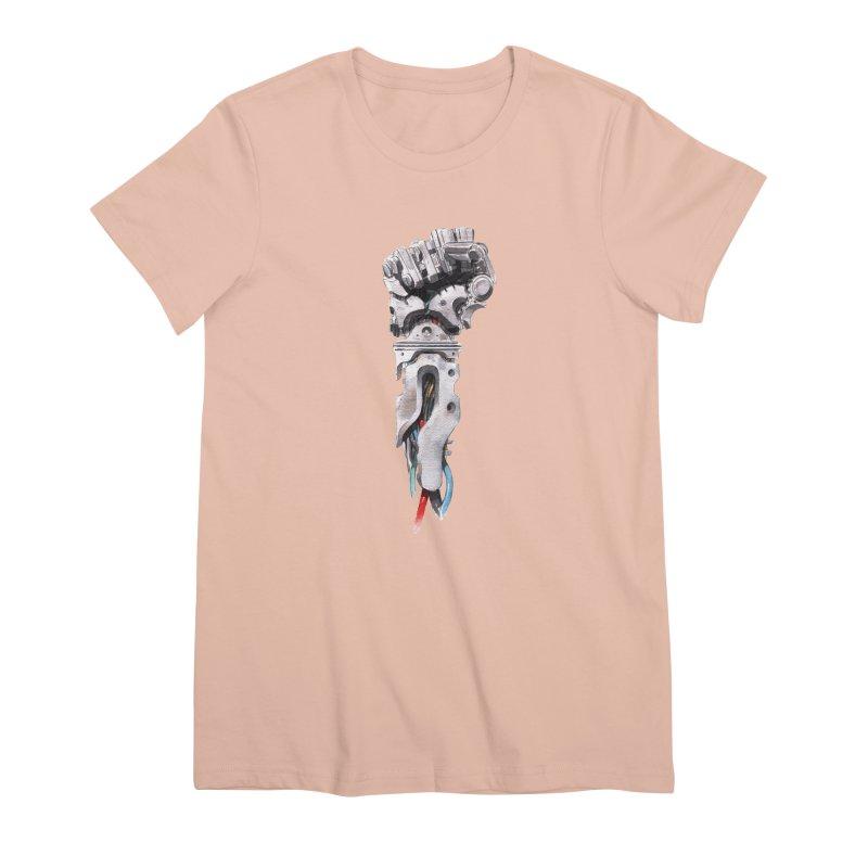 RISE Women's Premium T-Shirt by Dustin Nguyen's Artist Shop
