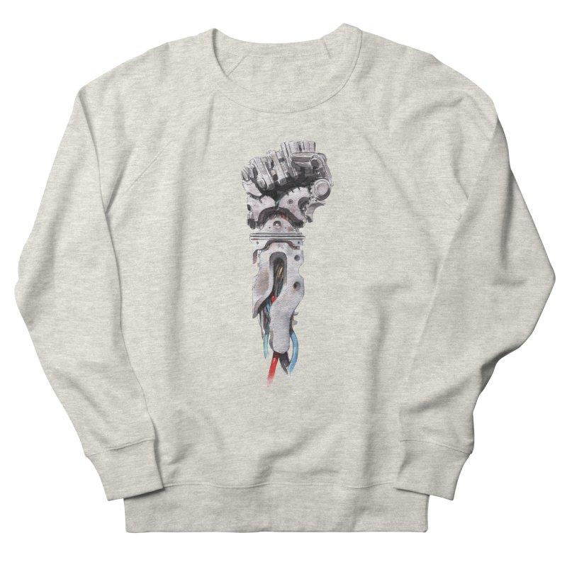 RISE Women's French Terry Sweatshirt by Dustin Nguyen's Artist Shop