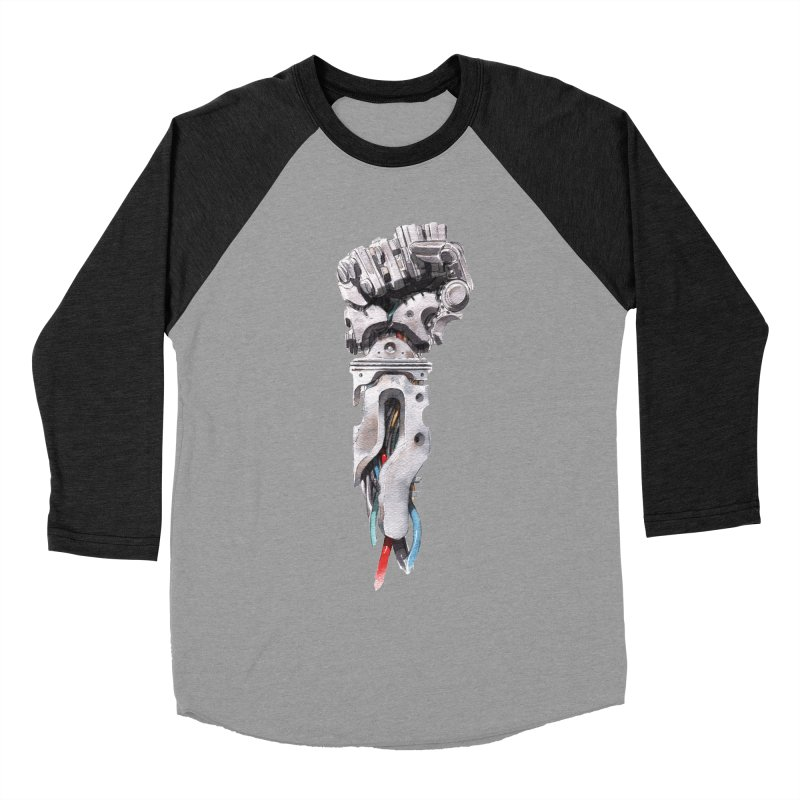RISE Men's Baseball Triblend Longsleeve T-Shirt by Dustin Nguyen's Artist Shop