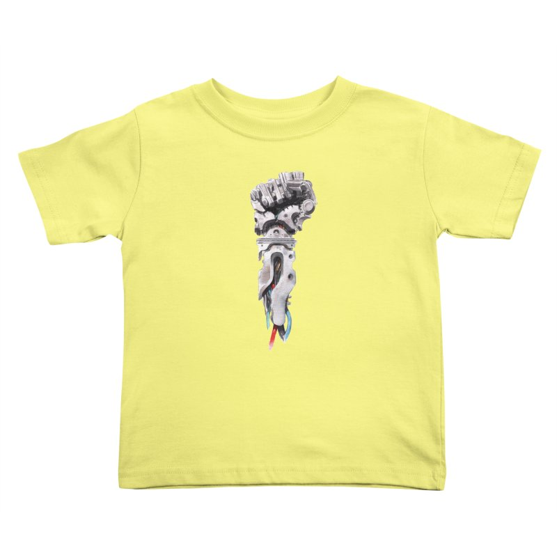 RISE Kids Toddler T-Shirt by Dustin Nguyen's Artist Shop