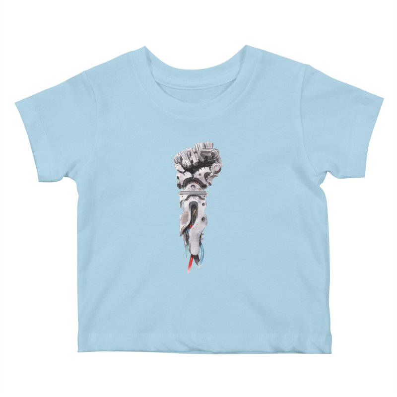 RISE Kids Baby T-Shirt by Dustin Nguyen's Artist Shop