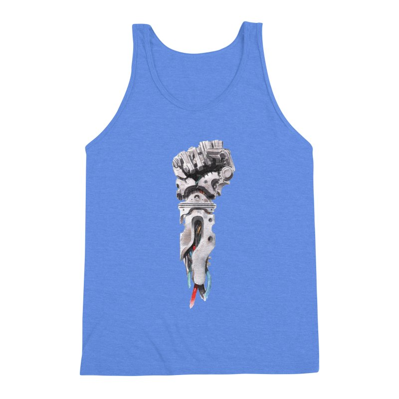 RISE Men's Triblend Tank by Dustin Nguyen's Artist Shop