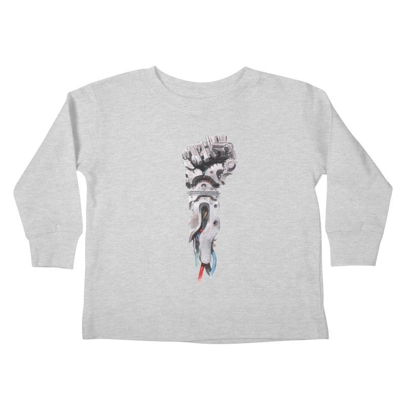 RISE Kids Toddler Longsleeve T-Shirt by Dustin Nguyen's Artist Shop