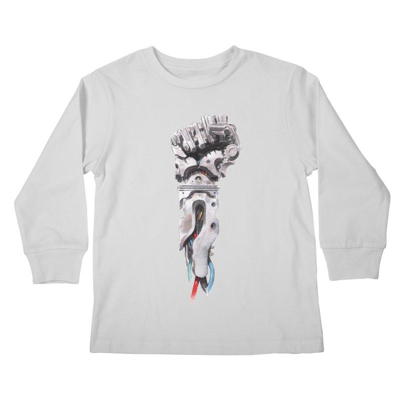 RISE Kids Longsleeve T-Shirt by Dustin Nguyen's Artist Shop