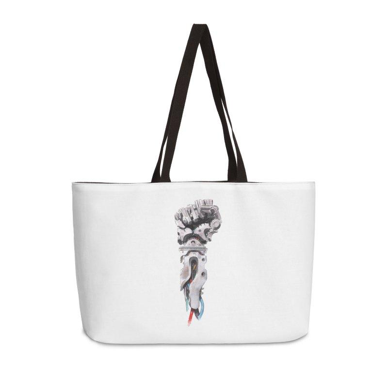 RISE Accessories Weekender Bag Bag by Dustin Nguyen's Artist Shop
