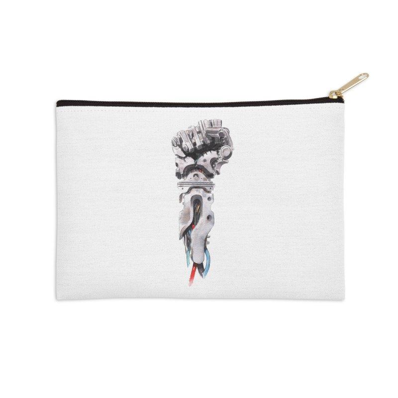 RISE Accessories Zip Pouch by Dustin Nguyen's Artist Shop