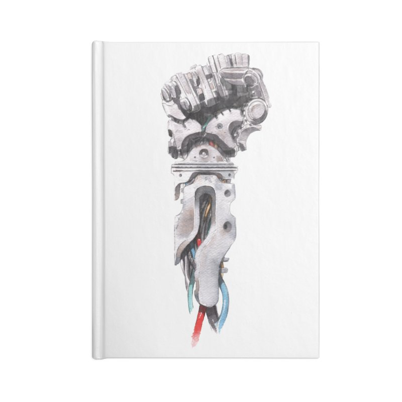 RISE Accessories Blank Journal Notebook by Dustin Nguyen's Artist Shop