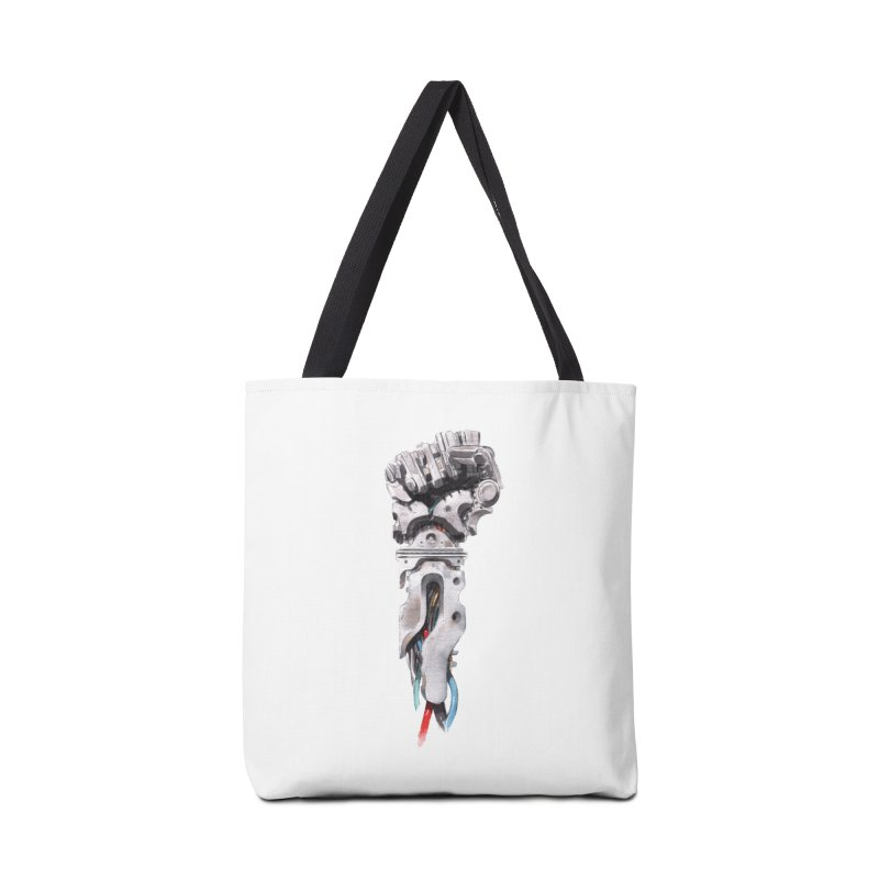 RISE Accessories Tote Bag Bag by Dustin Nguyen's Artist Shop