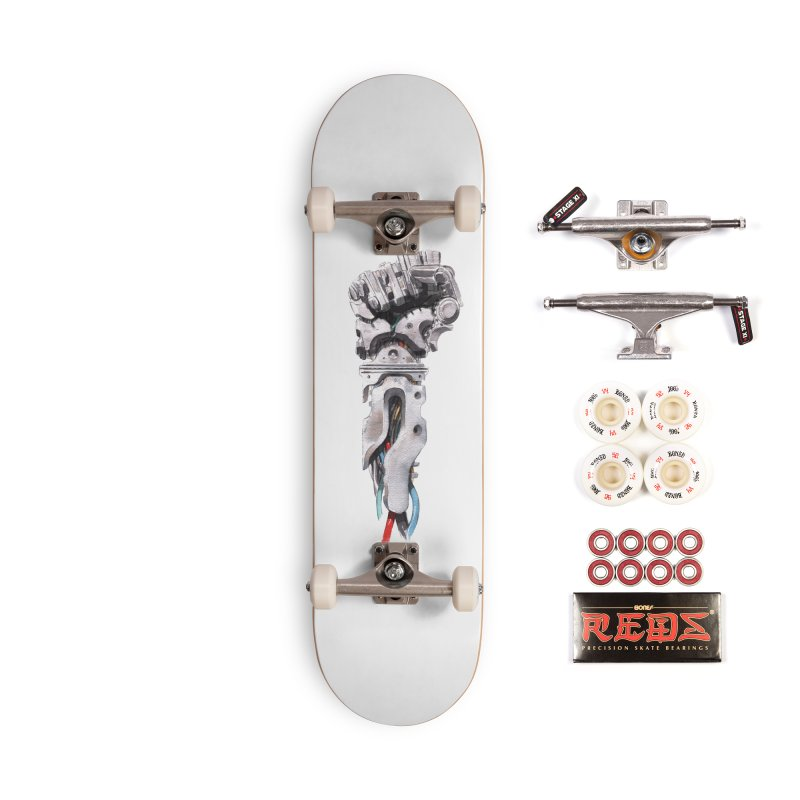 RISE Accessories Complete - Pro Skateboard by Dustin Nguyen's Artist Shop