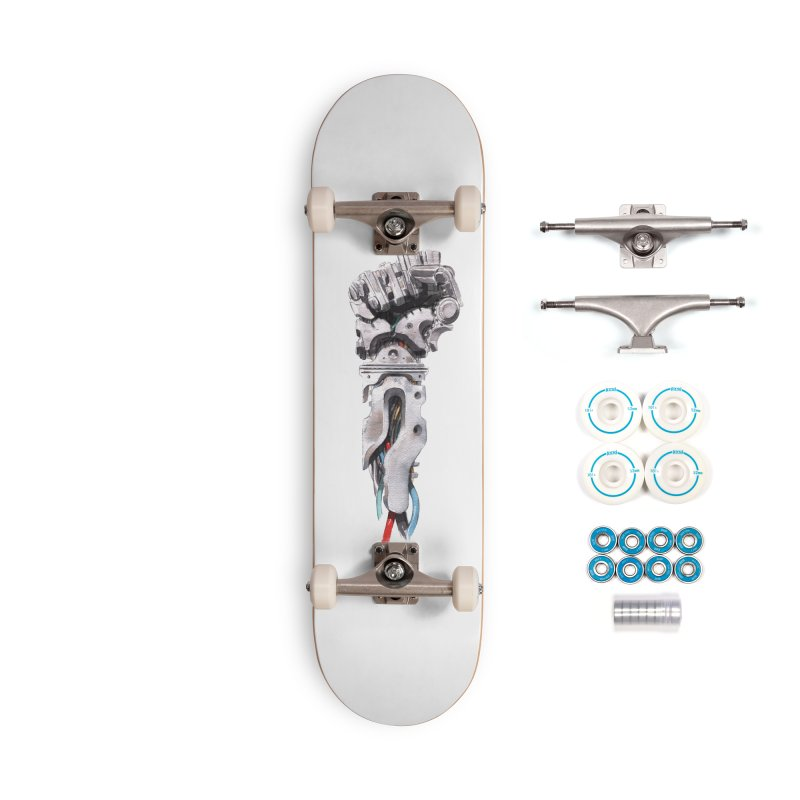 RISE Accessories Complete - Basic Skateboard by Dustin Nguyen's Artist Shop